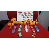 Coleccion Huevos Kinder De Cars