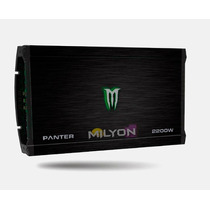 Potencia Monster Panter 2200w X-550.4 Amplificador 4 Canales