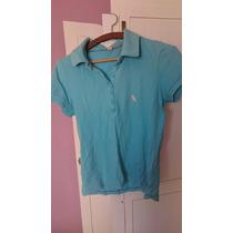 *brechó* Camisa Polo Feminina Side Walk M (usada)