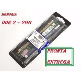 Memória Kingston Ddr2 2gb 800mhz Pc 6400 Desktop Original