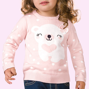 Sueter Casual Pink Baby 8424 Rosa Bebes