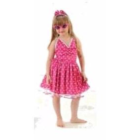 Vestido Anos 60 - Infantil