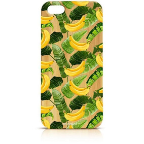 Funda Iphone Bambú ( Plátanos Y Plantas )