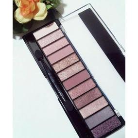 Paleta De Sombra Naked Rosê 12 Cores Belle Angel