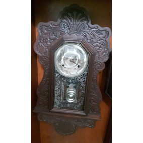 Reloj Antiguo De Pared Ansonia. Americano
