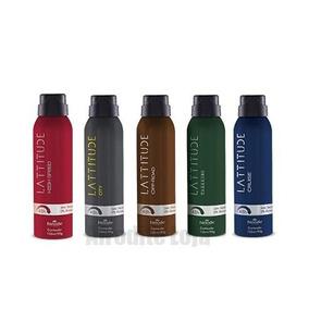 1 Desodorante Homem Lattitude Fragrâncias Hinode 150ml