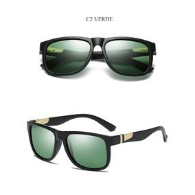 0ea854c6c2854 Oculos Solar Yooske Masculino Polarizado Proteção Uv- Verde · R  121