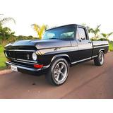 Ford F100 V8 Igual Zero Km Aceito Troca Dodge Maverick