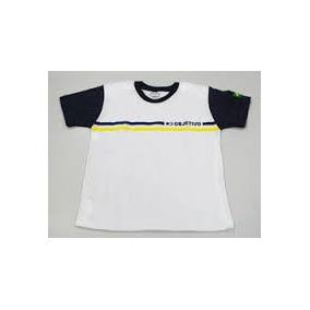 Uniforme Usado Colegio Objetivo - Camiseta Manga Curta M