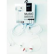 Audifonos Manos Libres Extra Bass Sonido Potente Blanco/n,r,