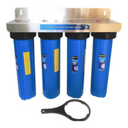 Filtro De Agua 20 Pulgadas Big Blue Para Toda Casa 4 Etapas