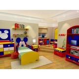 Muebles Infantiles En Melamina Con Diversos Motivopersonajes