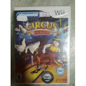 Nintendo Wii Circus Playmobil Original Americano Lacrado