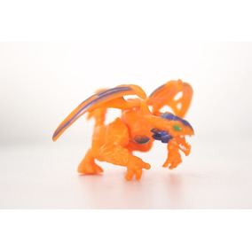 Dragón Naranja Plasma Dragons Mega Bloks