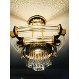 Lámpara De Techo Con Baño De Oro