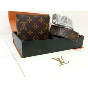 Kit Cartera/cinturon Louis Vuitton Envío Gratis