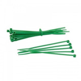 Construcción Amarre 100x3.5mm Verde 100un Vesta Nuevo Tech