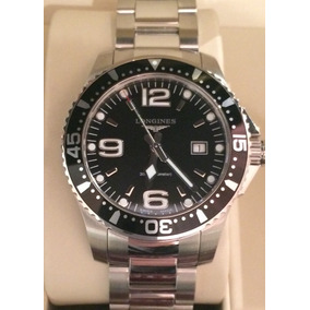 Reloj Longines Mod Hydroconquest 41mm Negro Nuevo