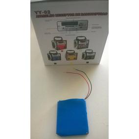 Bateria 3,5 + Ou - 4 Volts Para Radio Portatil Mp3 Mp4 Mp5