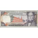 Venezuela 50 Bolivares 8 Dic 1992 Serie L 8 Dig P65d