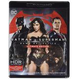 Bluray 4k Batman Vs Superman: Dawn Of Justice
