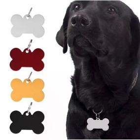 Pingente Para Coleira Osso De Cachorro Dog Tag Pet Sortido