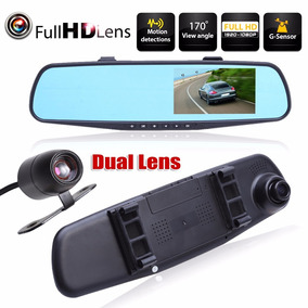 Camera Veicular Retrovisor Grava Full Hd 1080p Uber Taxi
