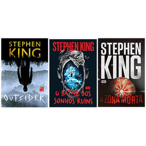 Outsider + Bazar Sonhos + Zona Morta - Stephen King