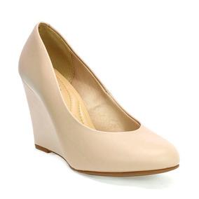 dab475382 Sapato Scarpin Boneca Beira Rio - Sapatos Creme no Mercado Livre Brasil