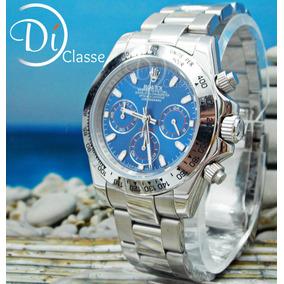 Reloj Rolex Cosmograph Daytona Acero En Azul