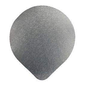 1000 - Selos De Alumínio 100mm Para Potes