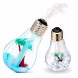 Lâmpada Umidificador De Ar Aromatizador Luminária Luz Led