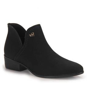 Ankle Boots Feminina Via Marte - Preto