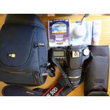 Camara Canon Eos 50 D+lente Tamron 18-200 Mm+accesorios