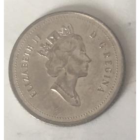 Monedas Antiguas Del Mundo - 10 Centavos 1996 Canada