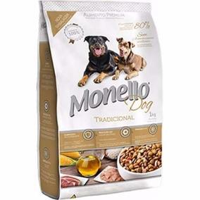 Ração Monello Premium Tradicional 15kg