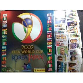 Album Copa Mundo Panini 2002 Vazio + 50 Figurinhas Soltas