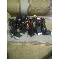 Cable Audio Y Video Xbox 360 Slim Original No Hdmi