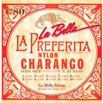 Encordado La Bella Para Charango, 10 Cuerdas C80