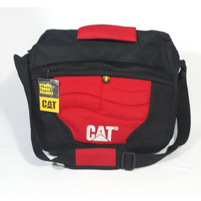 Pack Bolso Morral Grande + Billetera Caterpillar