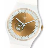 Reloj Swatch Suow144 Sunsplash Maquina Visible Suizo 30 M Wr