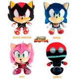 Sonic Boom Muñeco De Peluche Sega Original Importado