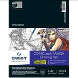 Canson Comic Manga Block Marcadores Copic,nv3b0,prismacolor