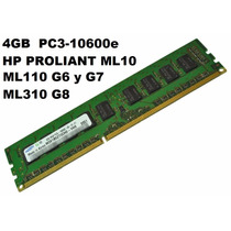 Memoria Hp Proliant 4 Gb Server Ml110 Ml310 Ml10 10600e 16gb