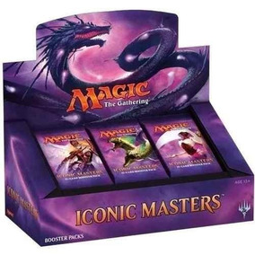 Magic Booster Box Iconic Masters