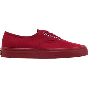Tenis Vans Authentic Red (primary Mono) 22.5-28 Originales