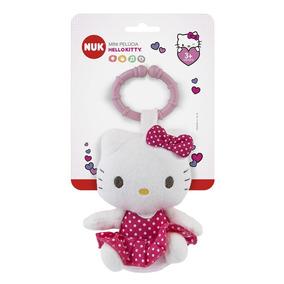 Mini Pelúcia De Atividades Hello Kitty Nuk - Novo E Original