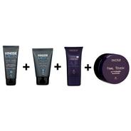 Maquiagem Masculina - Hinode Kit Completo 4 Produtos