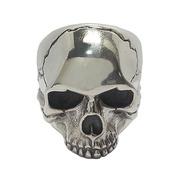 Novo Anel Caveira Keith Richards Maciço Prata Aros Médios