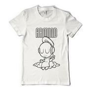 Remera  Armin Van Buuren Dj Color Animal